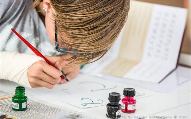 Kaligrafija za osnovnošolce