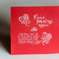 Poročno darilo - Opis poročne noči