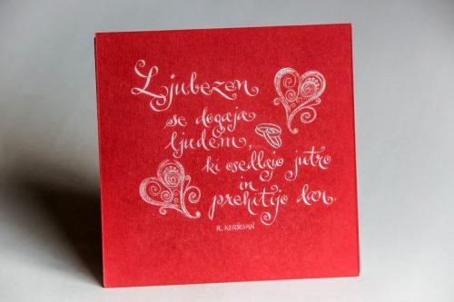 Poročno darilo - Ljubezen